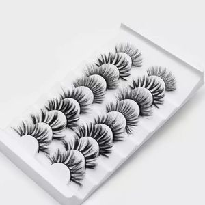 NEW 8 Pairs of 3D Faux Mink Lashes